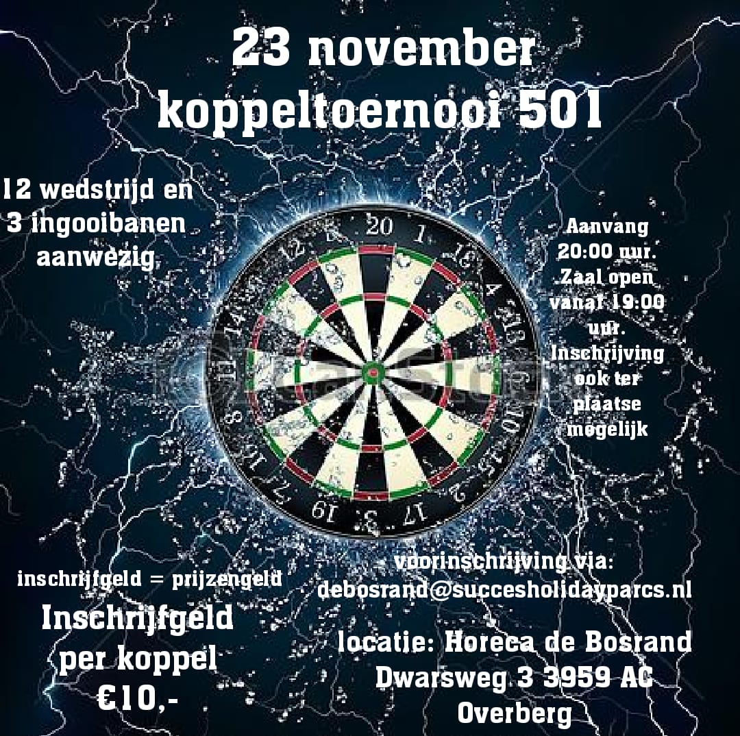 Koppeltoernooi De Bosrand - Overberg